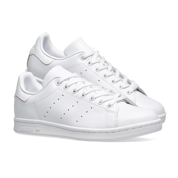 online retailer 100% genuine sale Women's Adidas Originals Stan Smith Triple White NWT